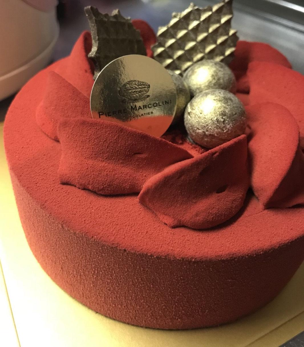 ピエールマルコリーニのクリスマスケーキ