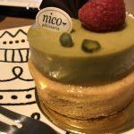 nicoピスタチオのチョコタルト