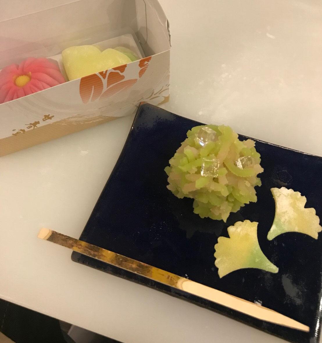 甘春堂の和菓子手作り体験