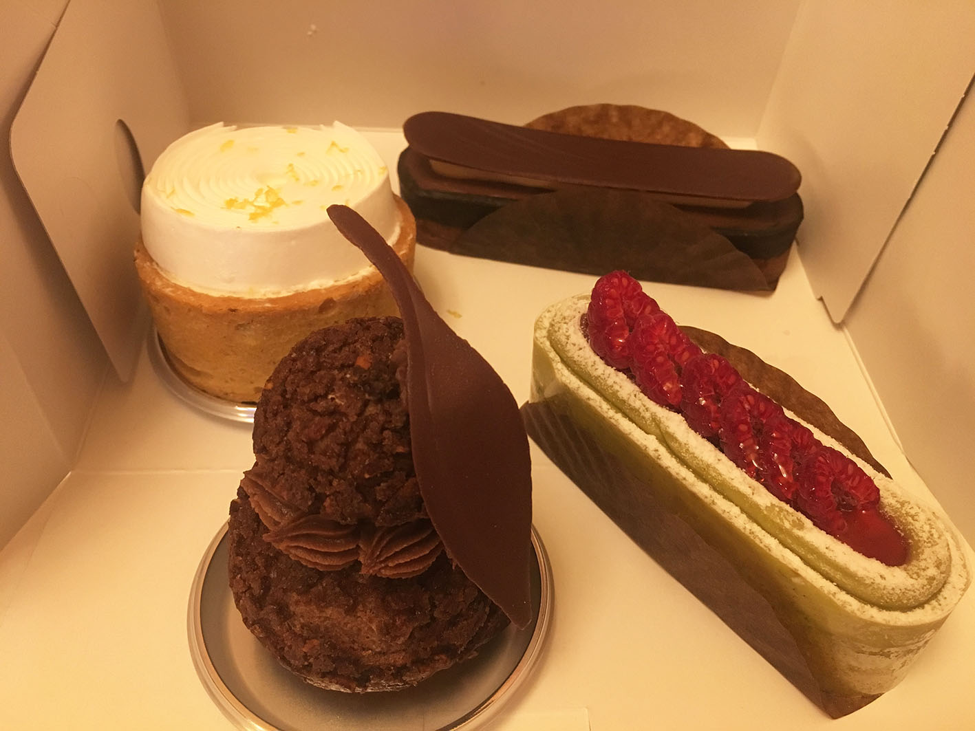 アッサンブラージュカキモトのケーキ