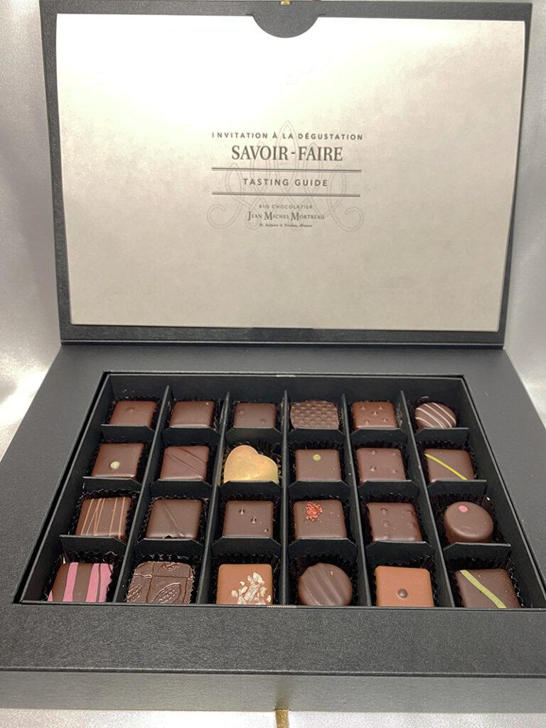 ジャンミッシェルモルトローのチョコレート